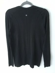 Lululemon Swiftly Tech Long Sleeve Crew Black 10