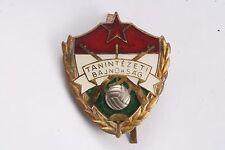 Hungary Hungarian Army Sports Badge Unit Award Soccer 1 Gold