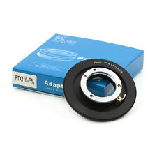 Lens Adapter Suit For Pentax 110 PTX110 Lens to Micro Four Thirds 4/3 Camera