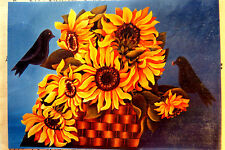 JANE DILLON SUNFLOWER FIRESCREEN PATTERN PACK ACRYLIC