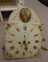 8 day longcase clock movement