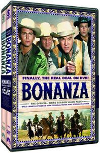 Bonanza: The Official Third Season Volumes 1 & 2 [New DVD] Full Frame, Gift Se