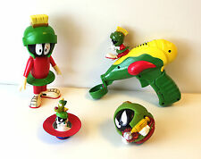 MARVIN THE MARTIAN Bubble Ray Gun, figure, Space Dog K-9, soft ball COLLECTIBLES