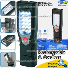 NEW Ring RIL40 17 LED Magnetic Base Rechargeable Cordless Inspection Lamp Torch