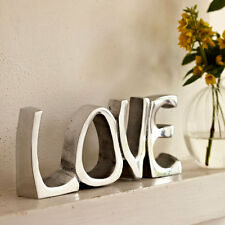 Handmade Recycled Steel LOVE Decorative Sign