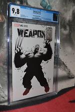 Weapon H #1 CGC 9.8 2018 (2X Lot) Dale KeownVariant Hulk#377 Cover C