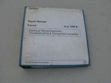 VOLKSWAGEN SERVICE REPAIR MANUAL FOR 1995 PASSAT (W42012194113)