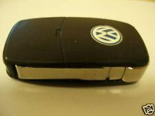 VW VOLKSWAGEN GOLF MK4 BORA & SKODA ETC 2 BUTTON REMOTE ALARM FLIP UNCUT KEY FOB