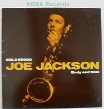 JOE JACKSON - Body & Soul - Excellent Condition LP Record A&M AMLX 65000