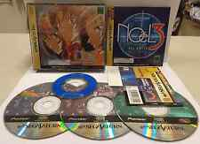 Console Gioco Game SEGA SATURN NTSC JAP NOEL 3 SPECIAL EDITION T-22205G