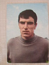 CARTOLINA CALCIO DINO ZOFF MANTOVA JUVENTUS NAPOLI UDINESE NAZIONALE ITALIA 1966