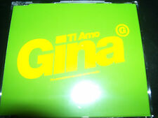 Gina G Ti Amo Promo CD Single WEA107CDDJ