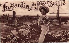 CPA  - La Sardine de Marseille (213554)