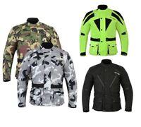 Men Waterproof Motorbike Motorcycle Motocross Textile CE Armoured Cordura Jacket