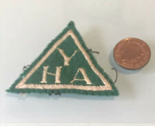 Youth Hostel Association (YHA) Vintage Fabric sew on Patch/Badge