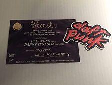 Rare Vintage 90s Club Flyer: DAFT PUNK & DANNY TENAGLIA @ TWILO NYC
