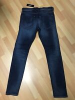 NWD Mens Diesel Tepphar Stretch Denim 084GR DARK Blue EXSlim W30 L32 H6 RRP£180