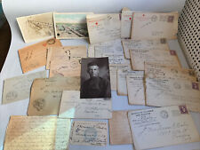 Lot of 23 Ww1 Us Soldier Letters to Family 1918 -1919 Read Desc