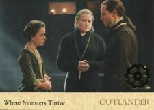 Outlander Season 2 Gold Jacobite Seal Base Card #65 Where Monsters Thrive