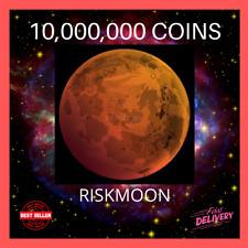 🌙10,000,000 RISKMOON COINS - 10 MILLION RISKMOON - MINING CONTRACT CRYPTO COIN