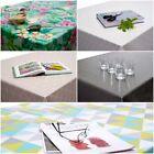 Wipe Clean PVC Tablecloth Oilcloth Vinyl 140cm x 200cm Rectangle - 40+ Designs