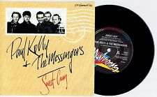 "PAUL KELLY & THE MESSENGERS - SWEET GUY - 7"" 45 VINYL RECORD w PICT SLV - 1989"