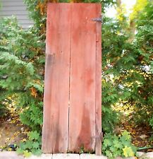 Vintage Wood Barn Door wooden antique architectural salvage farm house old #2