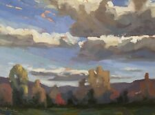 Shane Harris Original Oil Painting Impressionist Abstract Landscape Vermont