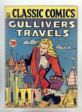 Classic Comics #16 HRN 15 (Original) FN Gulliver's Travels by Jonathan Swift
