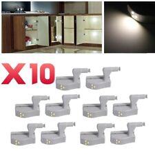 10X Scharnier LED Sensor Licht für Kleiderschrank Schrank Home Küche Schrank yu
