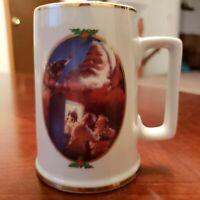 Coca Cola Collector Edition 1996 For Santa Mug Stein Christmas