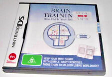 Brain Training Nintendo DS 2DS 3DS Game *Complete*