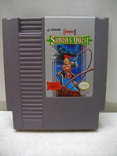 NINTENDO NES CASTLEVANIA II SIMON'S QUEST GAME CARTRIDGE ONLY CLEANED & TESTED