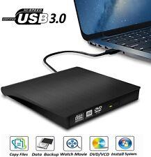 External CD Drive, USB 3.0 Portable CD/DVD-RW Drive Slim DVD/CD ROM PC MAC