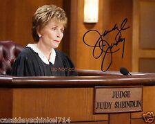 "Judge Judy TV Show 8x10"" reprint Signed Photo #1 RP Family Court Judge"