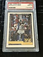 1992 Topps Gold Shaquille O'Neal ROOKIE RC #362 PSA 9 MINT 📈💎🔥🔥🔥🔥