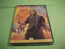 Braveheart - Mel Gibson - Widescreen - New & Sealed - 2000 (95)