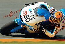 Esteve Tito RABAT Signed Photo 3 AFTAL Autograph COA MOTOGP Former Moto2 Champ