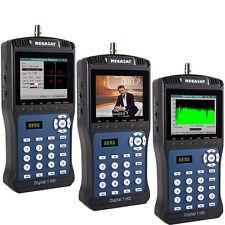 Megasat Digital 1 HD Sat Messgerät DVB-S / S2 SD HDTV 3,5 Zoll Display mit TV