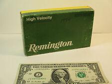 Vintage Remington Empty Ammo Box, Core-Lokt 303 British 180 Grain SP 1984