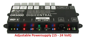 Digikeijs DR5000-18V-AU DCC Multi-Bus Central Command Station - AU Power