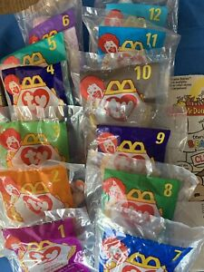 TY Teenie Beanie Babies | Lot of 12 - McDonalds 1998 - Tush Tags: 1993