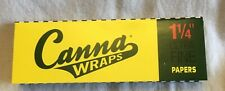 Canna Wraps Natural Rolling Papers 1 1/4