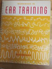 Workbook in ear training by Bruce Benward,2nd edition, new'old stock'