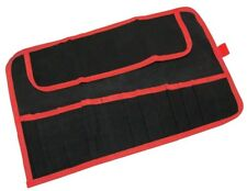 12 Pocket Water Resistant Tool Roll Spanner Tool Storage Pouch - Amtech