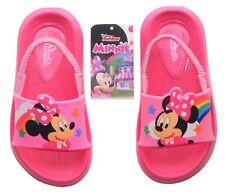 MINNIE MOUSE DISNEY Beach Sandals w/ Optional Sunglasses Size 5-6, 7-8 or 9-10