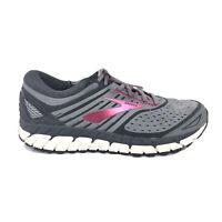 Brooks Ariel 18 Running Shoes Women Size 8.5 8 1/2 Gray Pink Sneaker 1202711D039