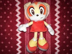 "Official GE 6"" CREAM Sonic The Hedgehog X Sonic Plush SEGA Toy 2006 First Print"