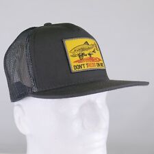 Fishpond Don't Tredd Hat - Charcoal/Slate - FREE SHIPPING