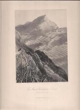 "Artist H Fenn ""The Mount Washington Road"" White Mountains 1876 S V Hunt Print"